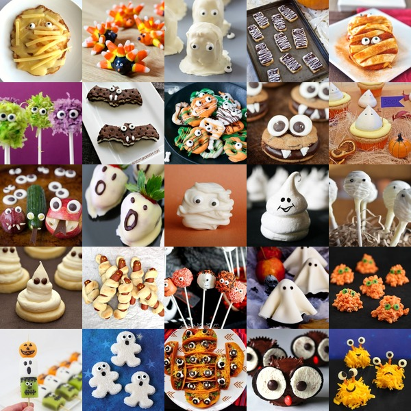 Halloween: Food With Eyes